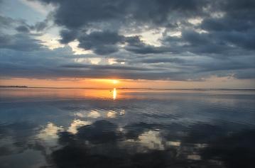 amazing sunset palmeto