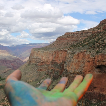 Painting in the Canyon